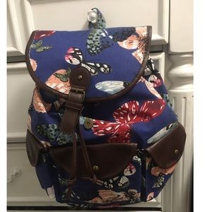 Other - Blue butterfly backpack